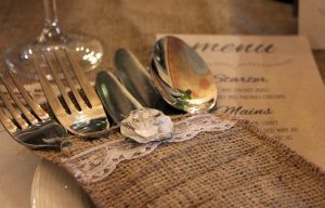 Table Setting and Menu ~ The Art of Tech, LLC. Website Costs